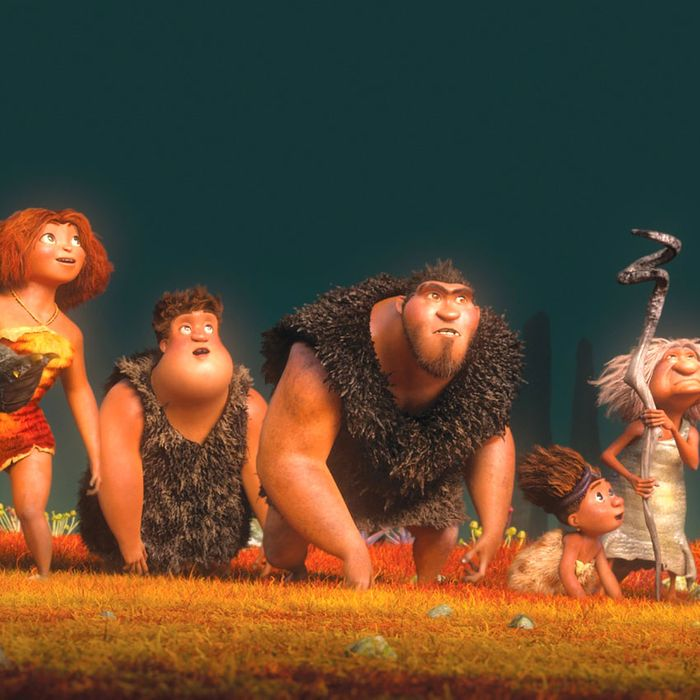 66fdc0844d129 Movie Review  The Croods Is an Animated Tale Smart Enough for a Caveman