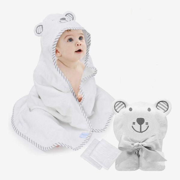 Eccomum Organic Bamboo Baby Bath Towels