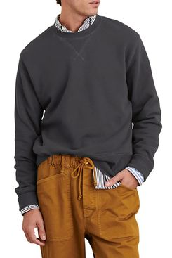 Alex Mill cotton crew-neck sweatshirt