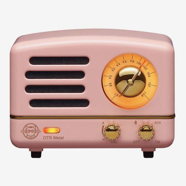 MUZEN Portable Wireless Vintage FM & Bluetooth Radio with Speaker