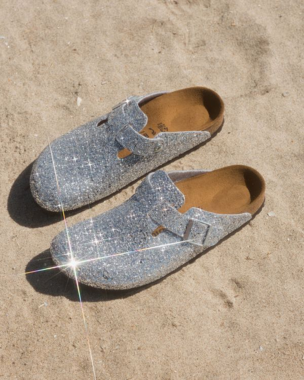Birkenstocks x Opening Ceremony OC Glitter Boston Clog