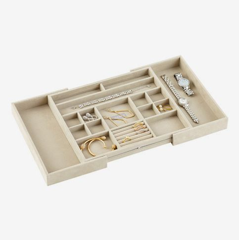The Container Store Stackers Medium Expandable Jewelry Storage Tray