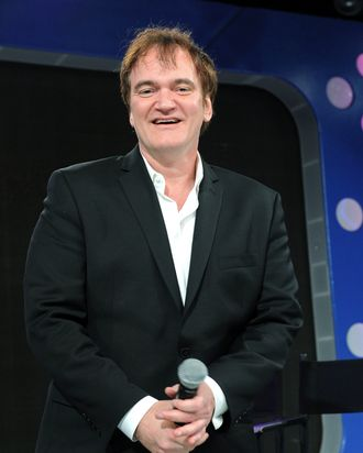 Quentin Tarantino visits BET's