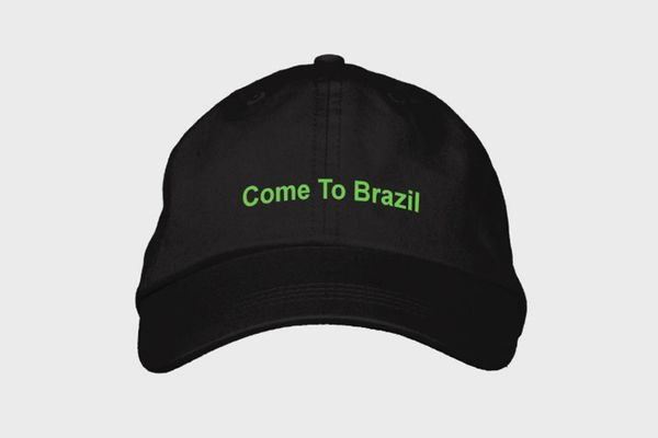 Hoho Coco Come To Brazil Hat