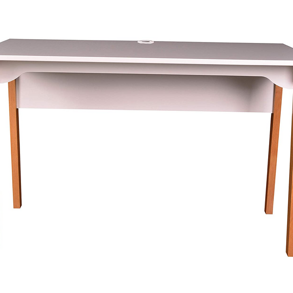 Lorell Mid-Century Modern Office Desk