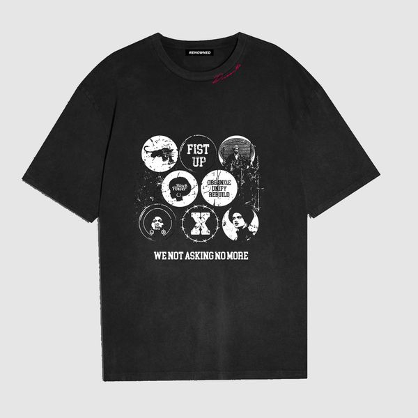 Renowned L.A. Heroes of Blackness Benefit Tee