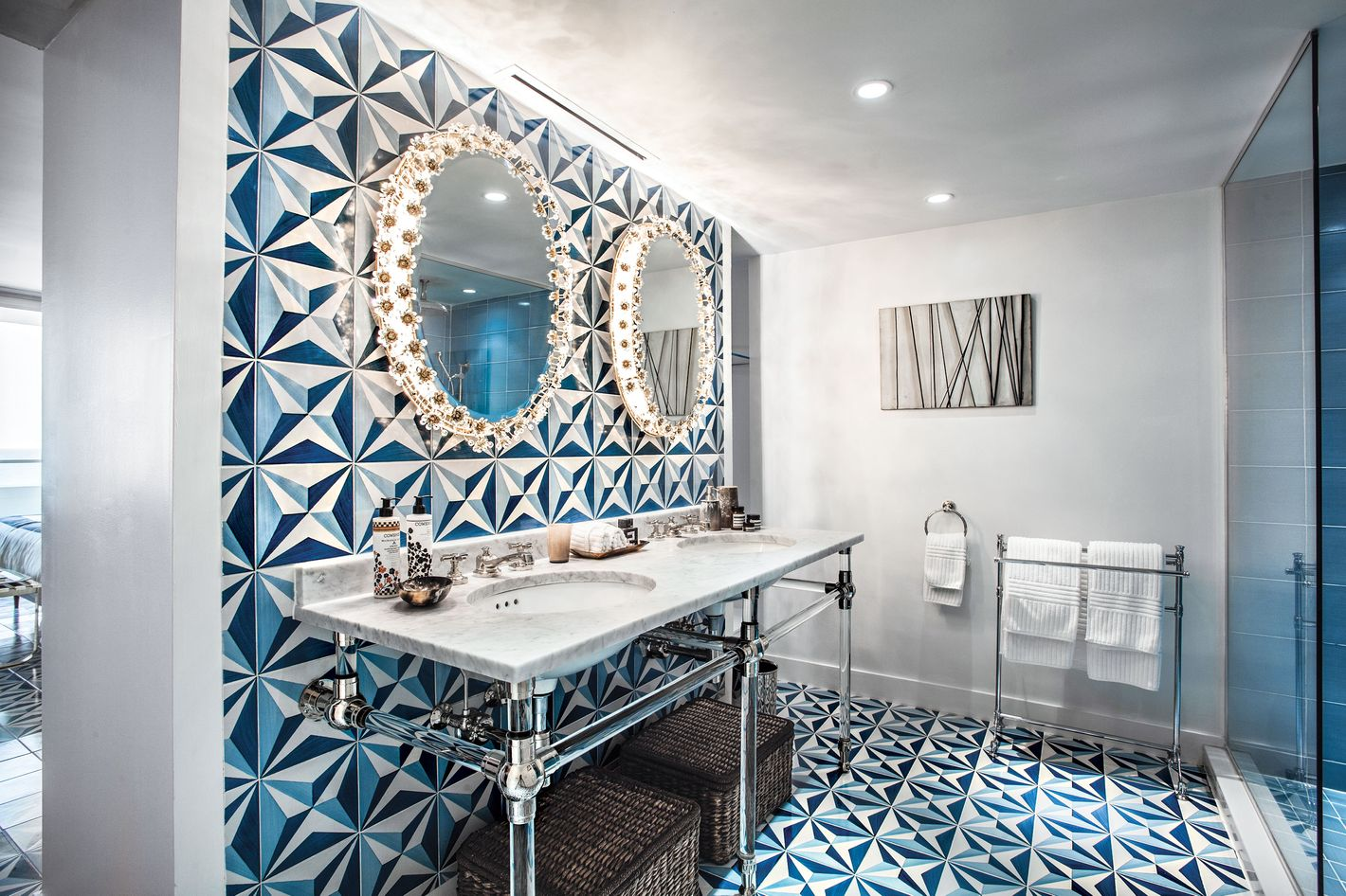 Colorful Bathroom Tiles Miami Crest - Bathroom Design Ideas - tykkk.info