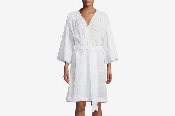 Skin Nina Cotton-Blend Robe