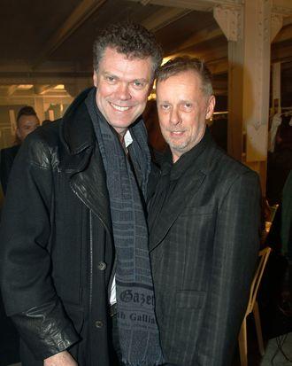 Pierre Denis and Bill Gaytten.