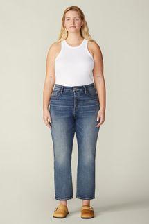 Warp + Weft Vintage High Rise Straight Jean