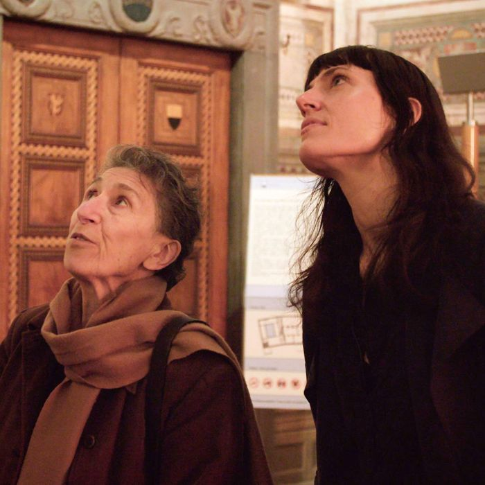 Silvia Federici and Astra Taylor.