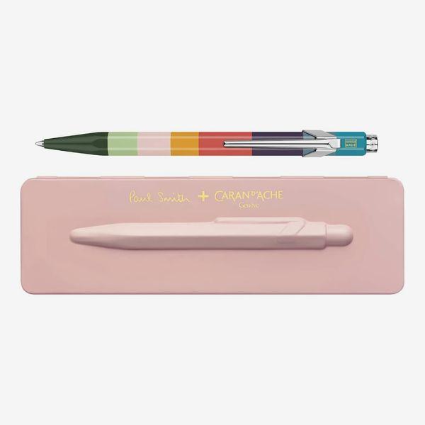 Caran d'Ache Paul Smith 3rd Edition 849 Ballpoint Pen — Rose Pink