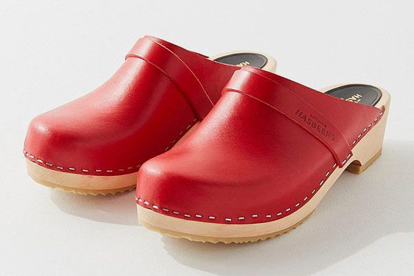 Swedish Hasbeens Heeled Clog