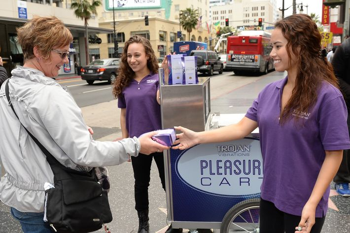 "A Trojan ""pleasure cart"" in Los Angeles"