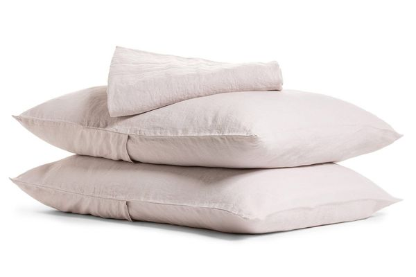 Parachute Linen Sheet Set Fitted Sheet + Pillowcase (Queen)
