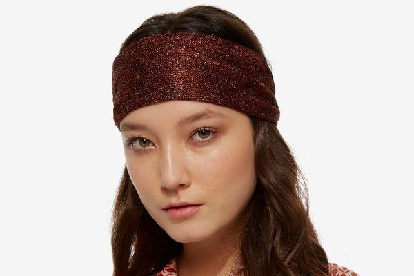Missoni Bronze Turban Headband