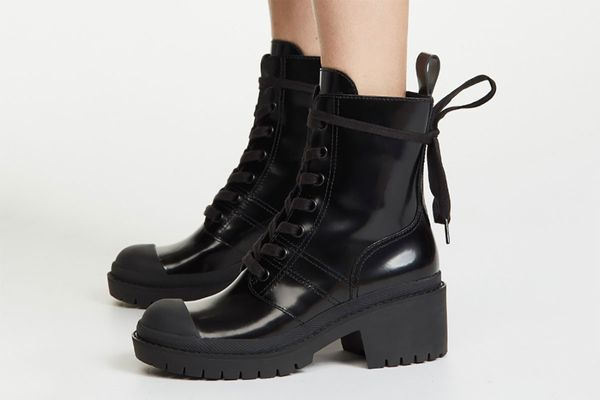 Marc Jacobs Bristol Laced-Up Boots