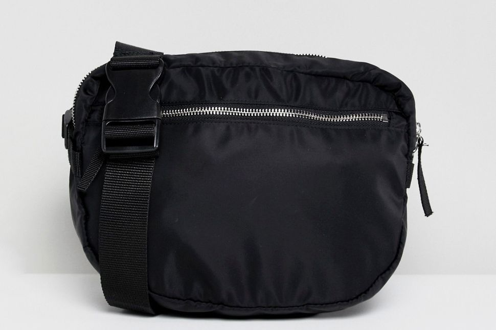 Monki Zip Front Body Bag
