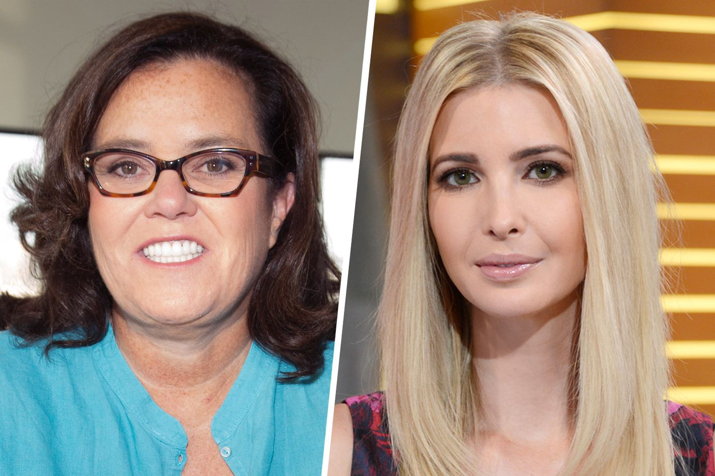 Rosie O'Donnell and Ivanka Trump meet face-to-face in NYC