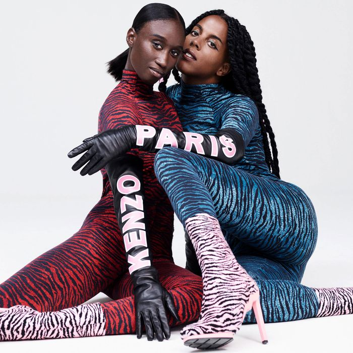 A look from Kenzo x H&M.