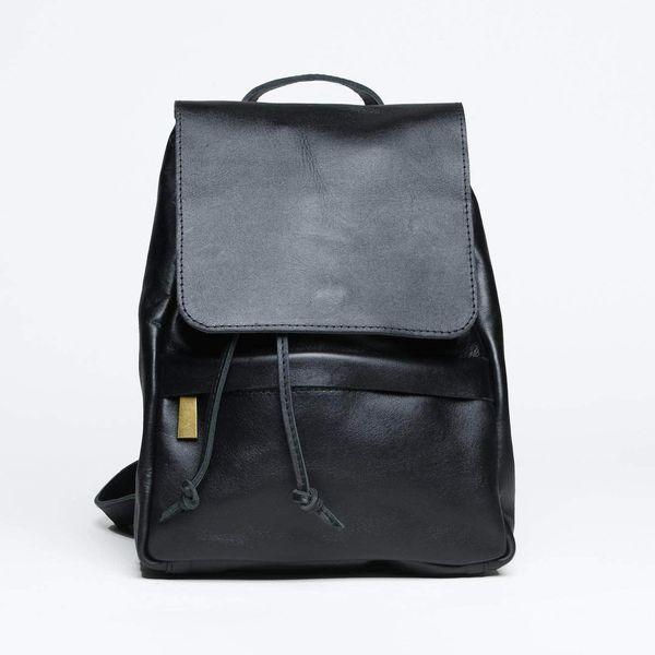 Mini Enku Leather Backpack