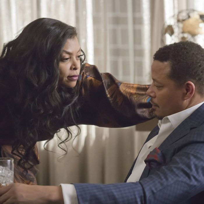 EMPIRE: Pictured L-R: Taraji P. Henson and Terrence Howard in the