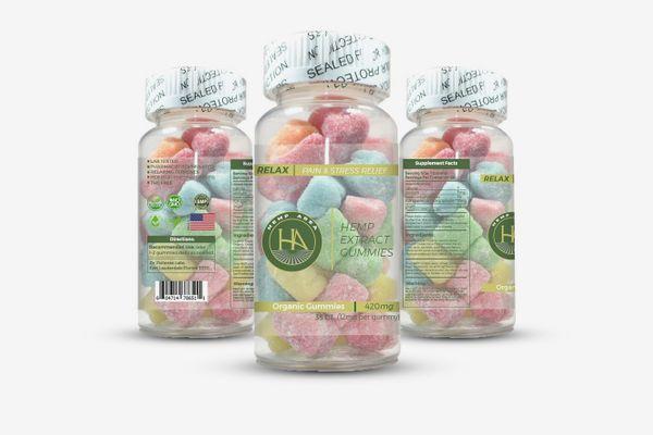 Hemp Extract-Infused Gummies