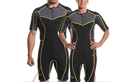 Kutting Weight Neoprene Weight-Loss Sauna Suit (Unisex)