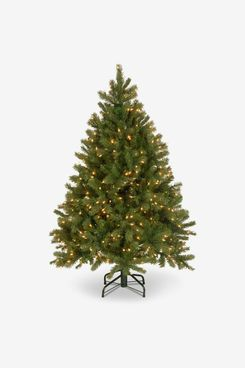 National Tree Company 4.5-Foot Downswept Douglas Fir Tree With Clear Lights