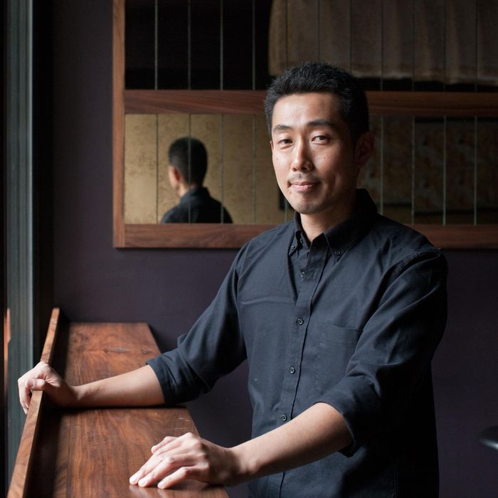 Goto, at his namesake bar.