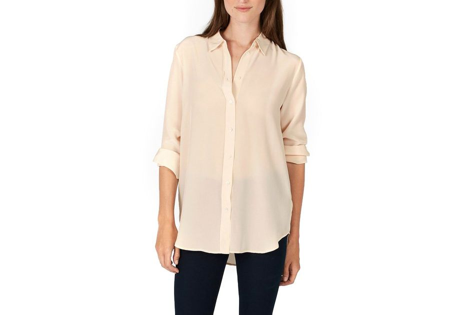 Everlane the Relaxed Silk Shirt