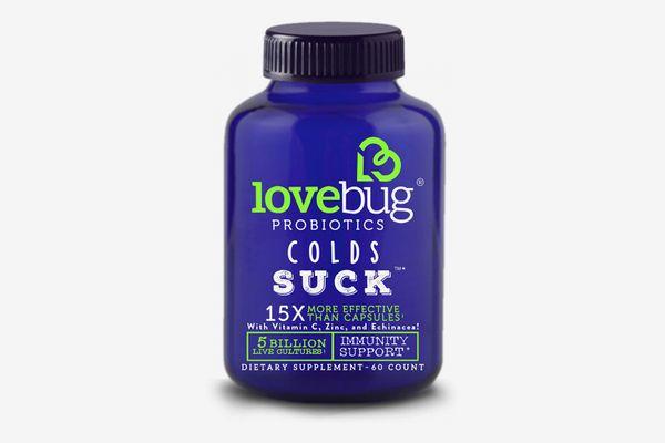LoveBug Colds Suck Probiotics Supplements
