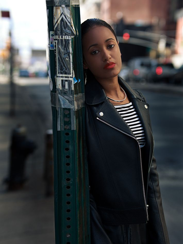 How 5 Cool Women Wear Their Leather Jackets