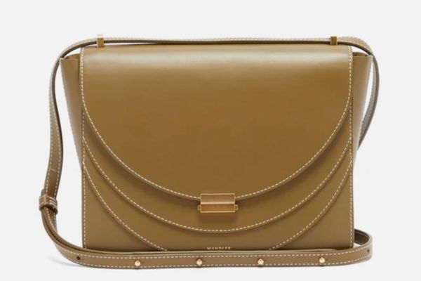 Wandler Luna Leather Crossbody Bag
