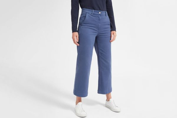 The Wide Leg Crop Pant
