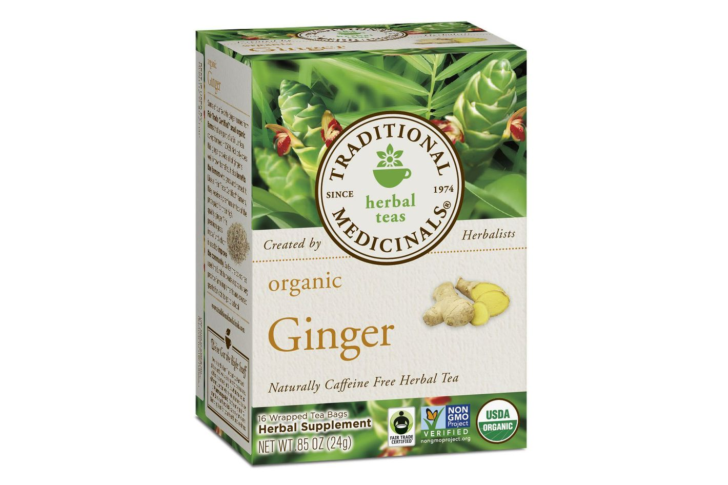 Traditional Medicinals Organic Ginger Tea