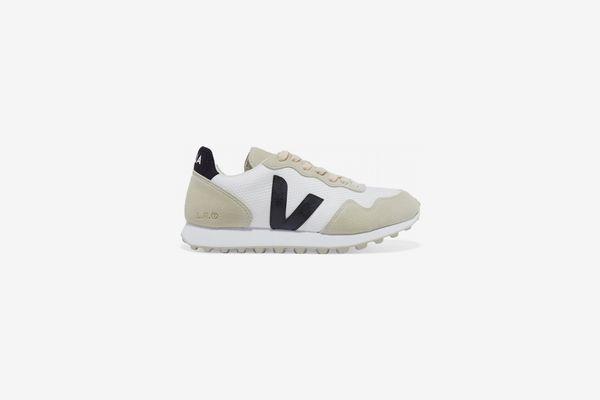 Veja Sdu Hexa Rubber-Trimmed Mesh and Vegan Suede Sneakers