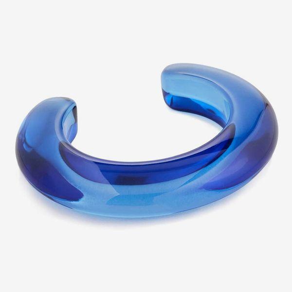 Lizzie Fortunato Women's Ridge Cuff in Electric Blue