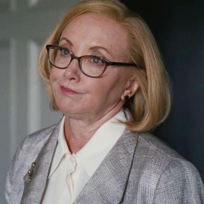 J. Smith-Cameron as Gerri on Succession.