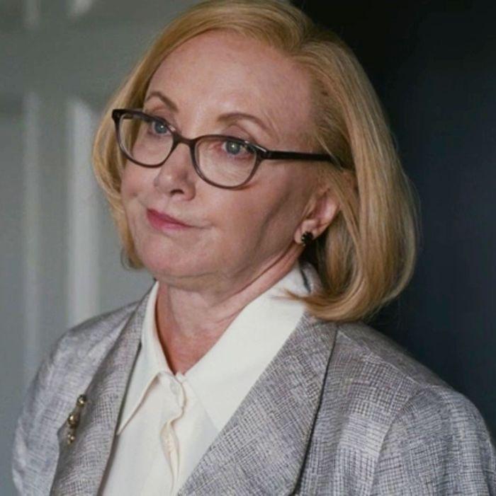 J. Smith-Cameron as Gerri on Succession.