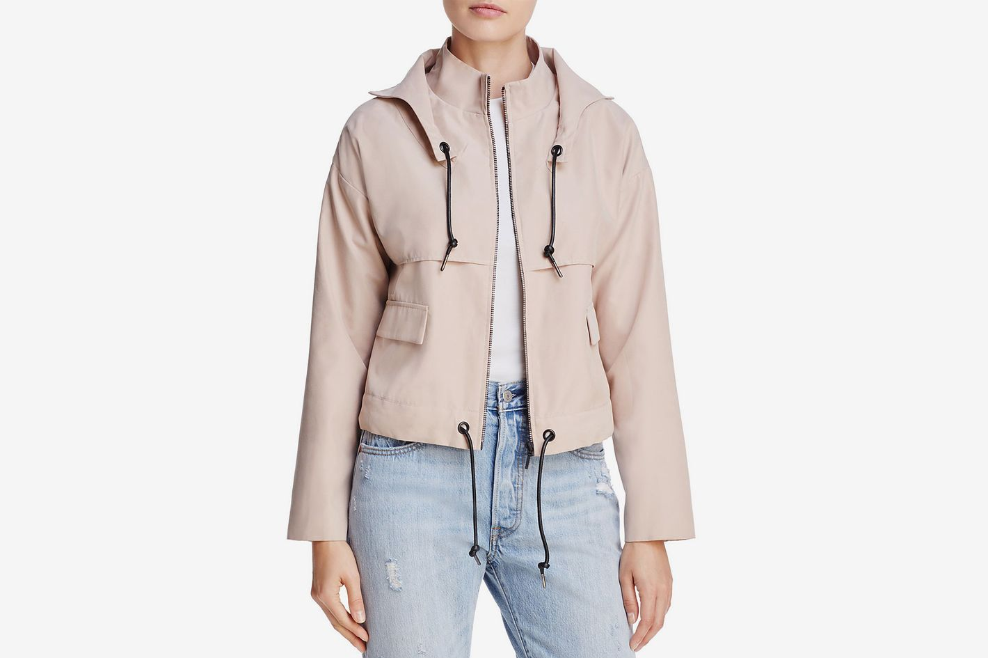 Finders Keepers Camberwell Hooded Drawstring Jacket