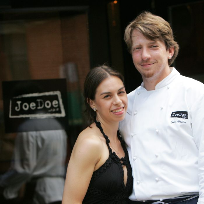 Jill Schulster and Joe Dobias.