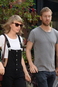 Taylor Swift and Calvin Harris.