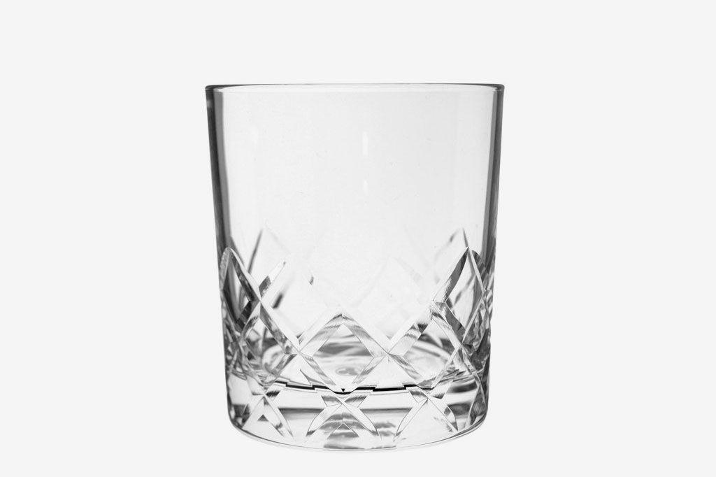 Toyo-Sasaki Hard Strong Diamond Cut Rocks Glasses (6-Pack)