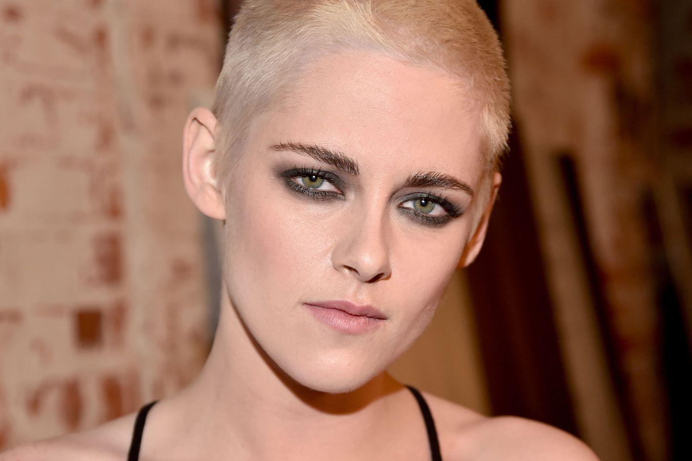 Kristen Stewarts New Haircut Is A Shaved Head