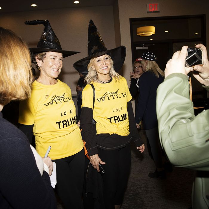 Halloween Costumes 2020 Witches Inside the Trump Pence 2020 Witch Hunt Halloween Party