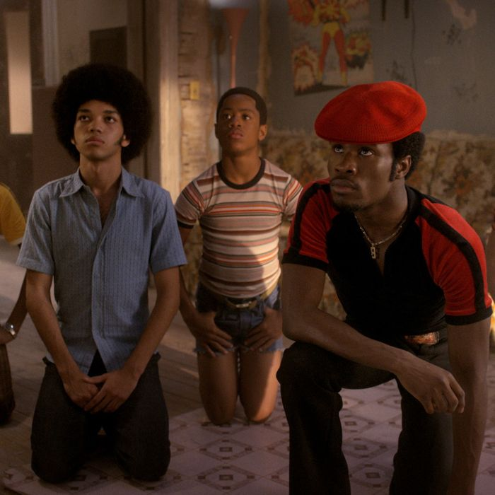 Skylan Brooks as Ra-Ra, Justice Smith as Books, Tremaine Brown Jr. as Boo-Boo, Shameik Moore as Shao, Jaden Smith as Dizzee.