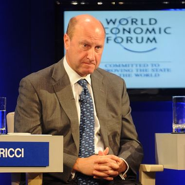 Rich Ricci, Co - Chief Executive officer of Barclays Capital, attends the World Economic Forum - India Economic Summit in Mumbai on November 14, 2011. More than 800 participants from 40 countries are taking part in the annual two-day India Economic Summit, which is making its debut in Mumbai having previously been held in the capital New Delhi. Delegates will focus on how to combine economic growth with essential social development.