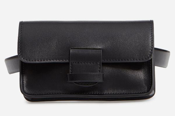 Halogen Faux Leather Belt Bag