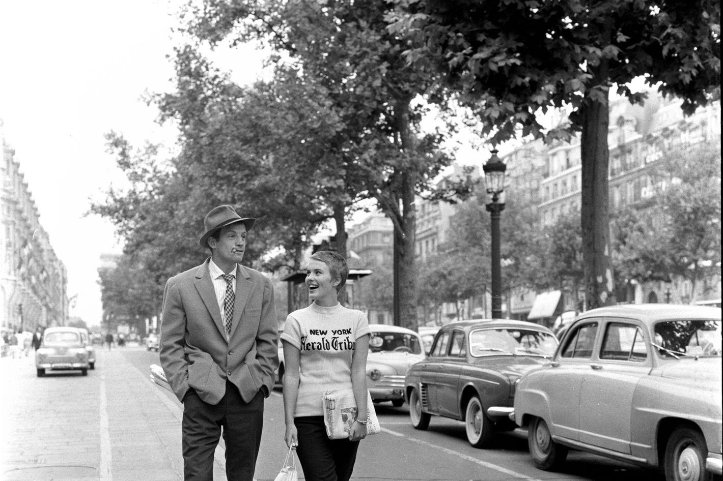 A BOUT DE SOUFFLE (1960) / BREATHLESS (1961) Directed by Jean-Luc Godard